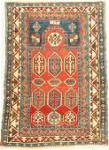 Borchalu prayer rug, Caucasus, late 19th century