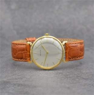 ZENITH 18k yellow gold gents wristwatch