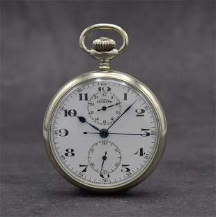 GUINAND open pocket watch with chronograph