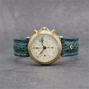 MAURICE LACROIX gents wristwatch with chronograph