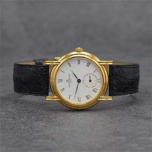 BAUME & MERCIER 18k yellow gold gents wristwatch