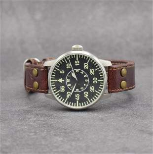 LACO TUIfly limited aviation watch in steel