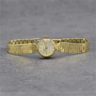 ANKER 14k yellow gold ladies wristwatch