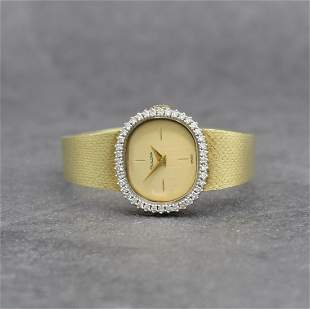 BULOVA 14k yellow gold ladies wristwatch