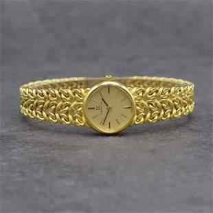 ZENITH 14k yellow gold ladies wristwatch
