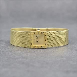 CORUM 14k & 18k yellow gold ladies wristwatch