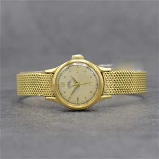 MIDO 18k yellow gold ladies wristwatch series Multifort
