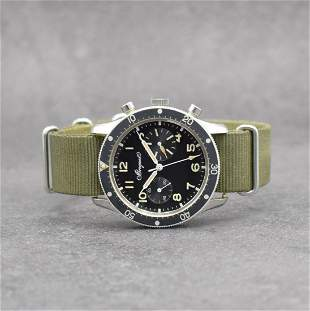 BREGUET very rare aviation-chronograph with Flyback