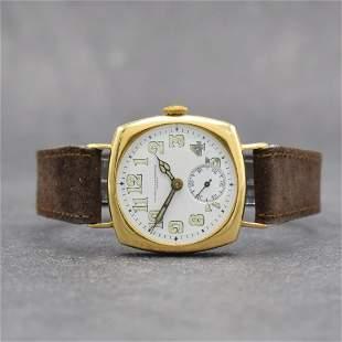 VACHERON & CONSTANTIN Geneve early 18k gold wristwatch