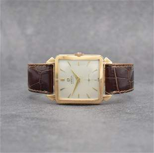 OMEGA 14k pink gold gents wristwatch reference 3903