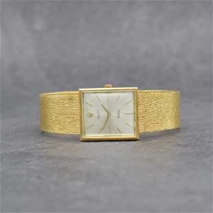 ROLEX 18k yellow gold Cellini ladies wristwatch