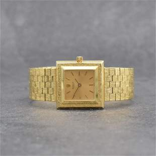 ROLEX 18k yellow gold wristwatch reference 9878