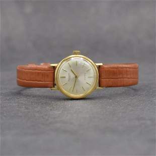IWC rare 18k yellow gold ladies wristwatch