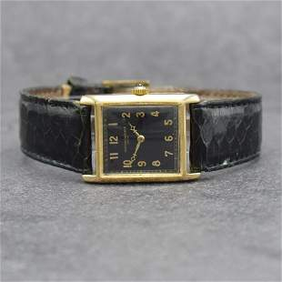VACHERON & CONSTANTIN fine 18k yellow gold wristwatch