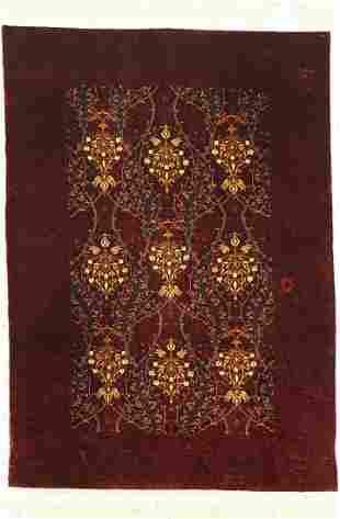 Hereke silk fine, signed, (Cinar), Turkey, approx. 40