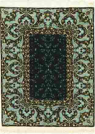 Hereke silk fine, signed (Cinar), Turkey, approx. 40