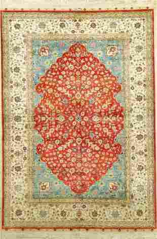 Hereke silk a, China, approx. 30 years, pure natural