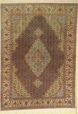 Tabriz fine (50Raj), Persia, approx. 60 years,wool on