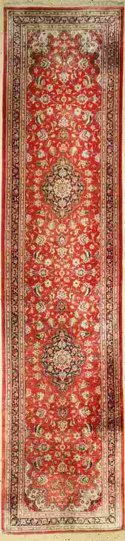 Qum silk, Persia, approx. 60 years, pure natural