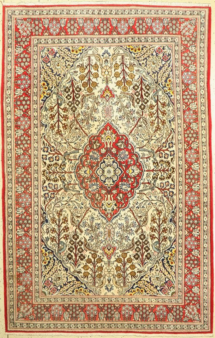 Qum old, Persia, approx. 60 years, wool silk, approx.