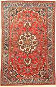 Isfahan old, Persia, approx. 60 years, wool oncotton