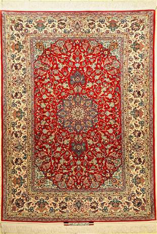 Isfahan Seyrafian fine old, signed, Persia, around 1950