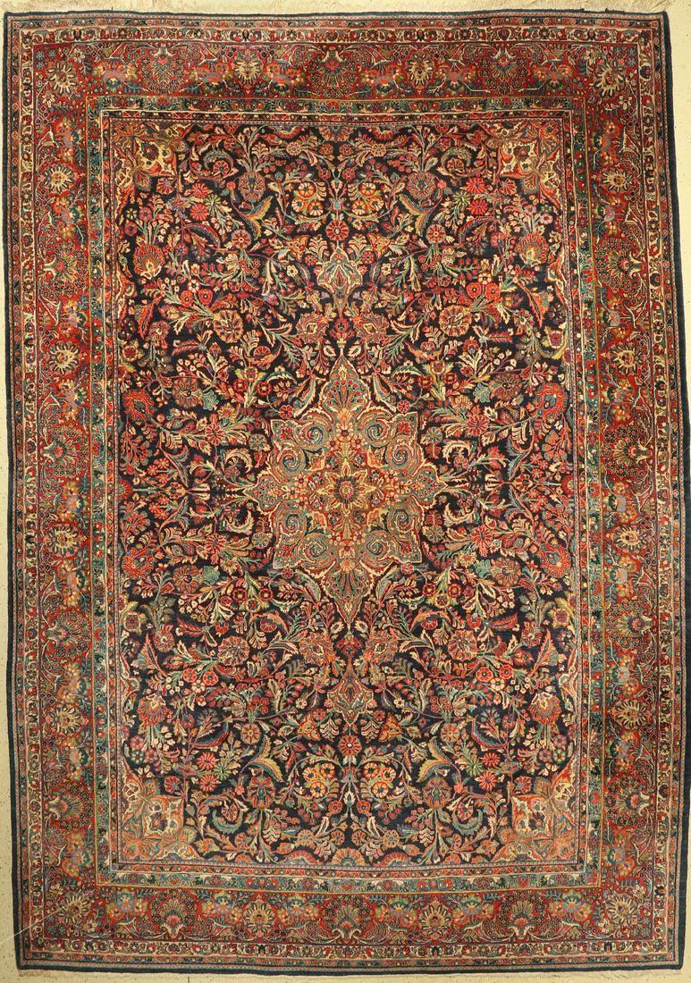 Saruk old, Persia, around 1930, wool on cotton