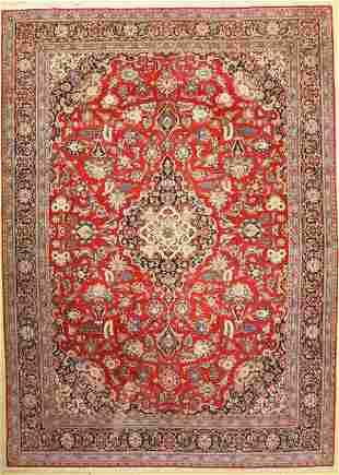 Kashan fine, Persia, around 1930/1940, wool oncotton