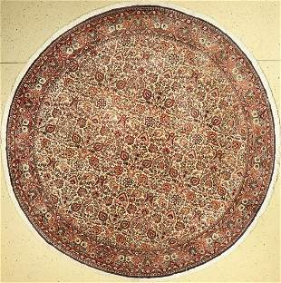 Rare round bidjar fine Persia, approx. 50 years, wool