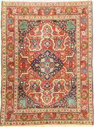 Antique Tabriz, Persia, around 1910/1920, woolon cotton
