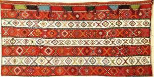 Ghashgai bag fine, Persia, around 1940/1950, wool with