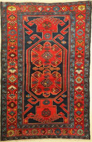 Armenian Kazak old, Caucasus, around 1910, wool on