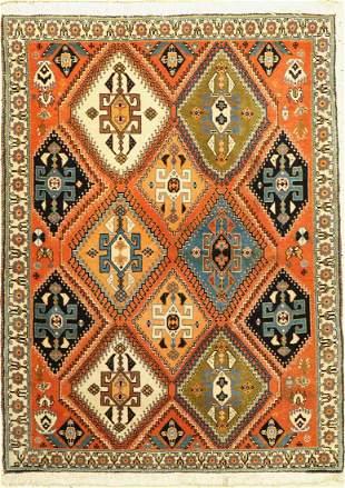 Kashkuli, Persia, approx. 50 years, wool on cotton