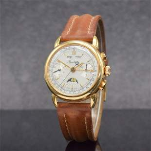 BREITLING Datora very rare 18k pink gold chronograph