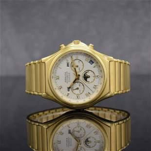 ZENITH rare 18k yellow gold El Primero chronograph
