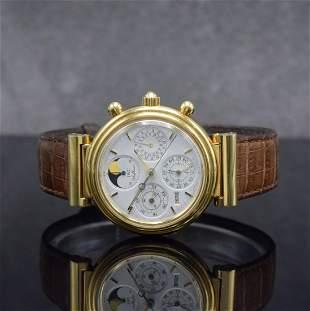 IWC 18k yellow gold chronograph Da Vinci