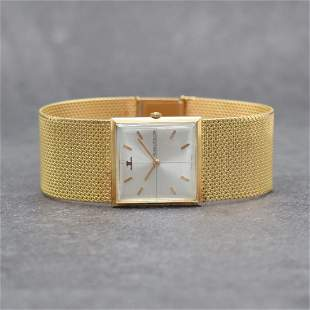 Jaeger-LeCoultre 18k pink gold wristwatch