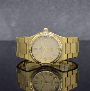 ETERNA Kontiki Royal Quartz 18k gold gents wristwatch