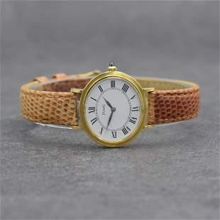 PIAGET 18k yellow gold ladies wristwatch