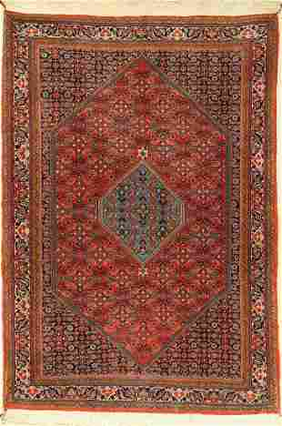 Bidjar fine, Persia, approx. 60 years, wool oncotton