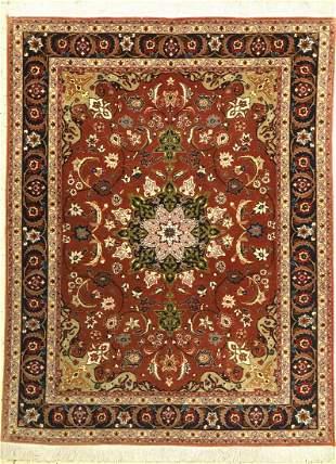 Tabriz fine, Persia, approx. 50 years, wool oncotton