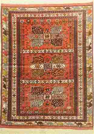 Ghochan, Persia, approx. 50 years, wool on wool