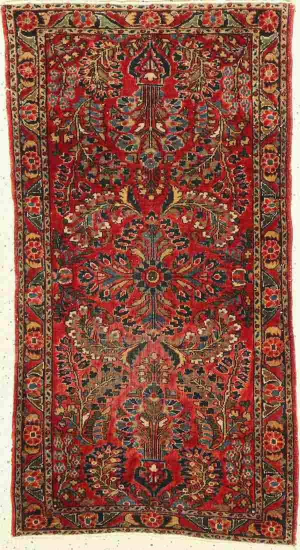 Saruk antique, Persia, circa 1910, wool on cotton