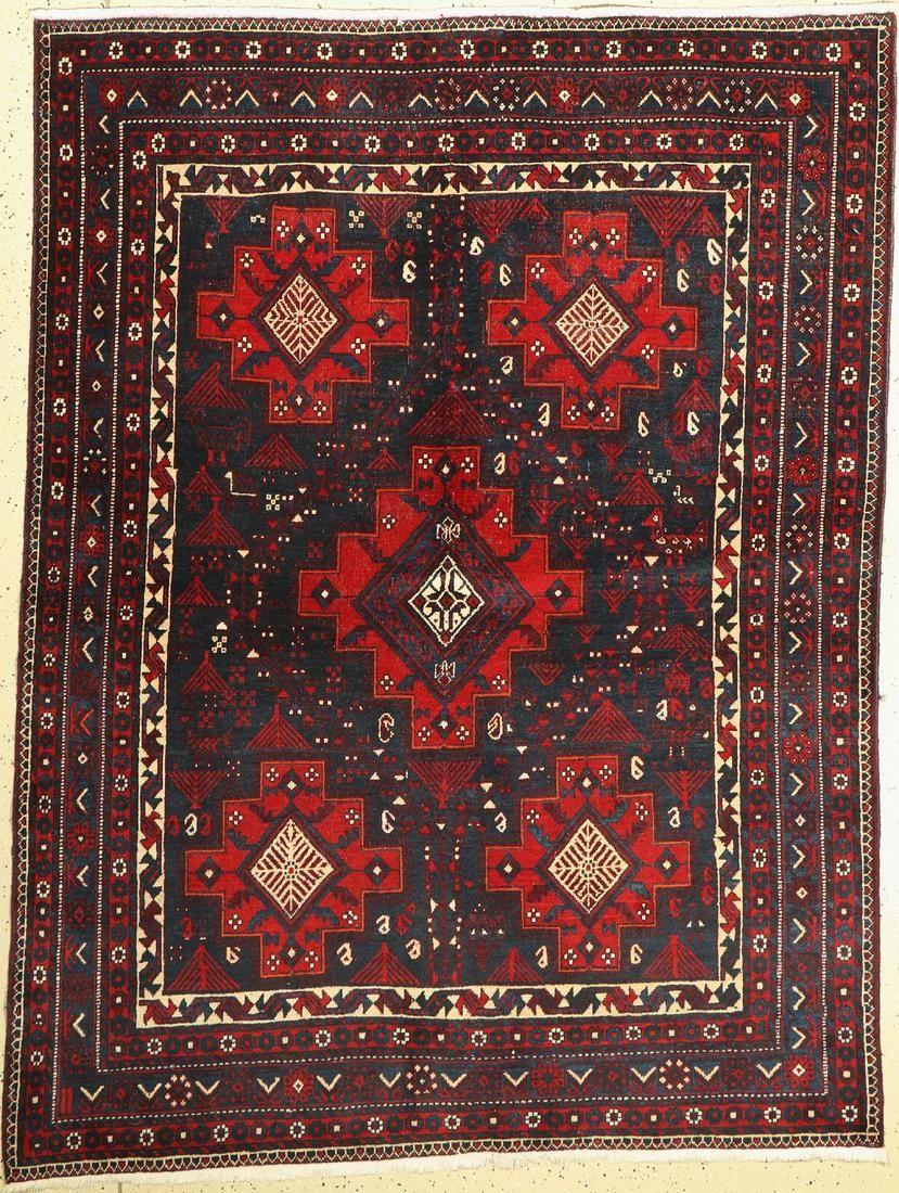 Afshar old, Persia, around 1940, wool on cotton