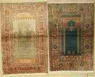 Two Kayseri old, Turkey, approx. 60 years, mercerized