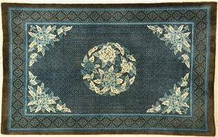 Pao Tow antique, China, around 1910, wool on cotton