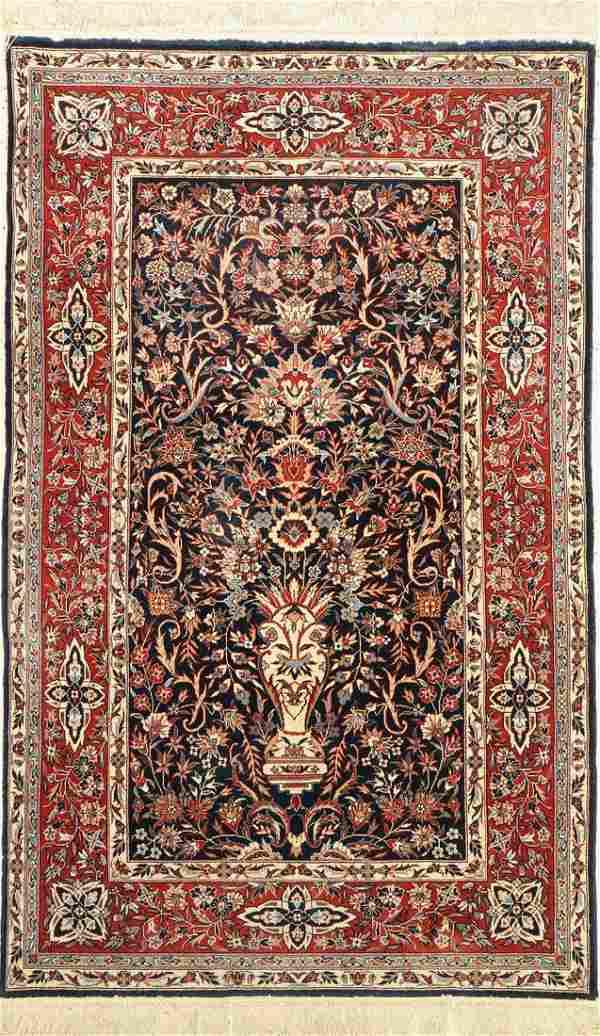 Isfahan fine, China, approx. 50 years, wool onsilk