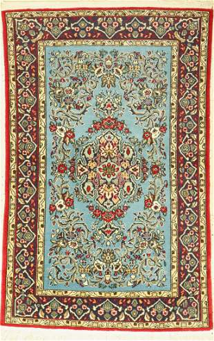 Qum old, Persia, approx. 50 years, wool on cotton