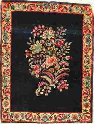 Kerman Lawar, Persia, around 1940, wool on cotton