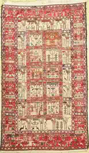 Azeri Sumak, Persia, approx. 60 years, mercerized